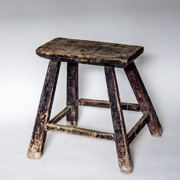 Vintage Rectangle Village Stool SQ0517001JA