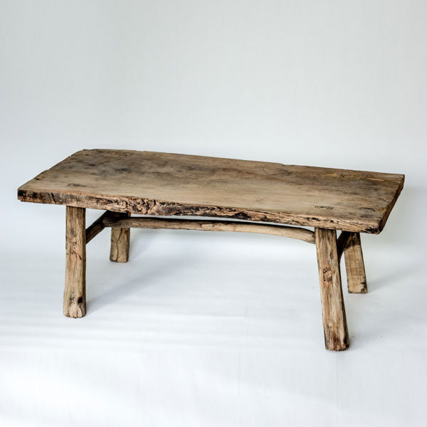Vintage Rustic Low Table SS0517108CC-TABLES-Wu & McHugh