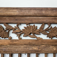 Antique Decorative Elm Window Panels AD0517078BA