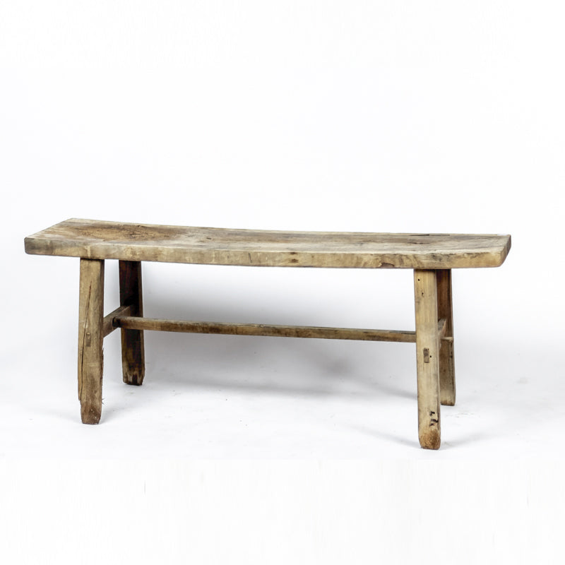 Large Vintage Weathered Elm Bench ADBVB092091