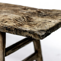 Vintage Long Bench with Weathered Top ADBVB092093