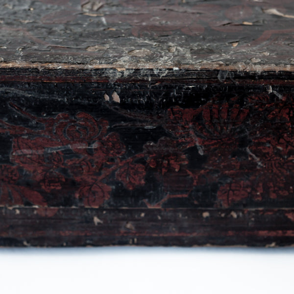 Antique Wooden Food Box With Original Paint AD0416023-TABLE DÉCOR-Wu & McHugh