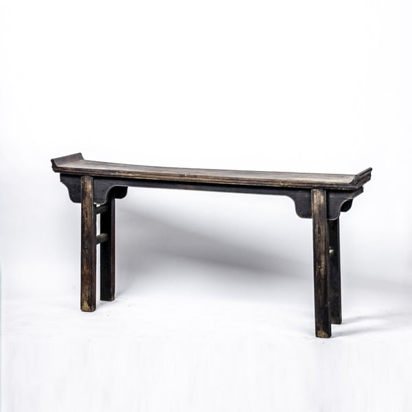 Antique Altar Table with Worn Dark Patina AT09201