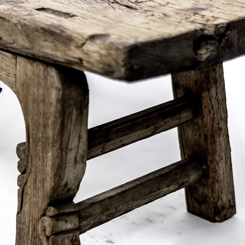 Antique Long Three Person Bench BAB09201