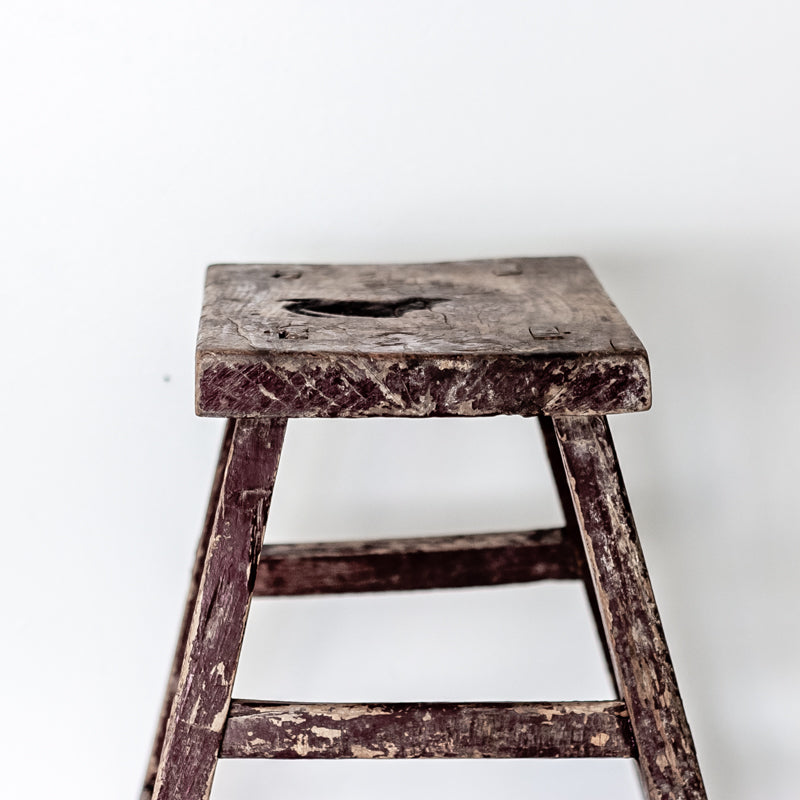 Vintage Rectangle Village Stool YX0018037ZB-SEATING-Wu & McHugh