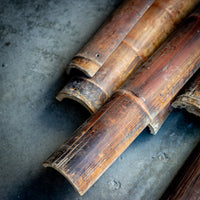 Salvaged Architectural Aged Long Bamboo AD0716059