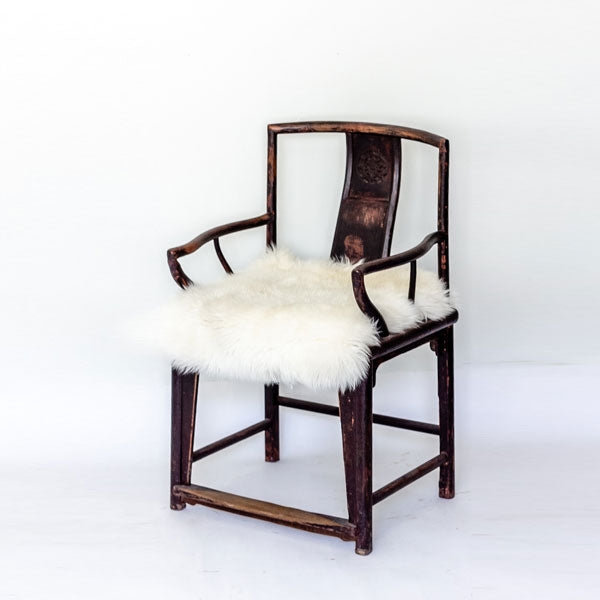 Antique Southern Style Official's Hat Armchair AD0716073-SEATING-Wu & McHugh