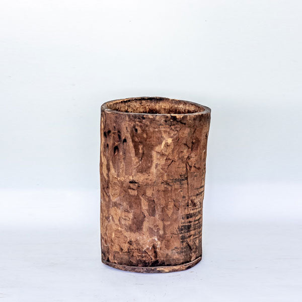 Antique Large Wooden Dry Grains Vat YX0517088-GARDEN-Wu & McHugh