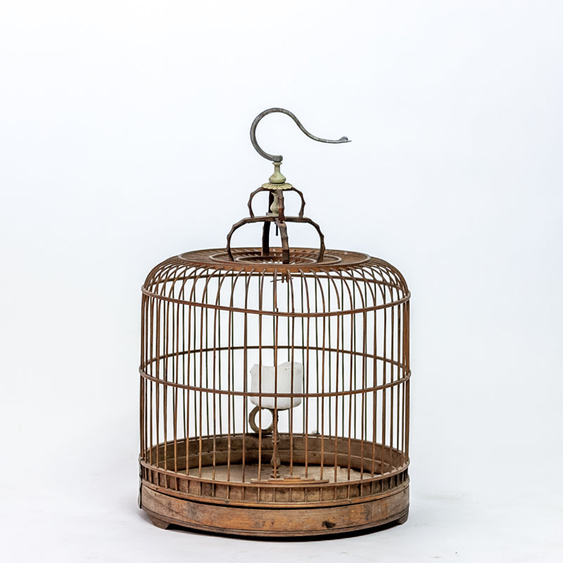 Vintage Bamboo Bird Cage SQ0517029FA