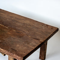 Vintage Rustic long and Low Table SS0517109-TABLES-Wu & McHugh