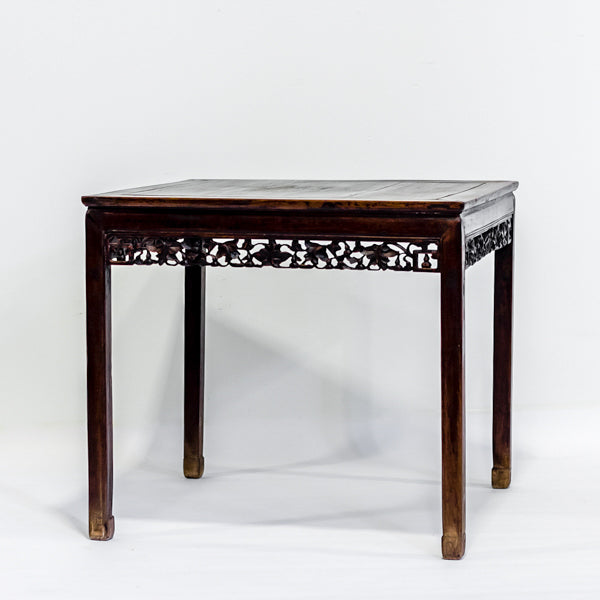 Antique Square Dinning Table AD0416041-TABLES-Wu & McHugh
