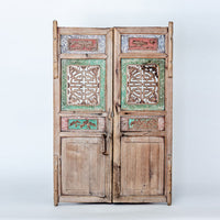 Antique Decorative Small Cabinet Doors TB0517099-WALL DÉCOR-Wu & McHugh