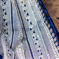 Vintage Indigo Cotton Decorative Textile TB0517140