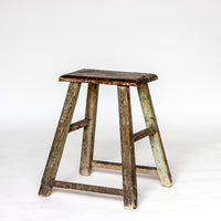 Vintage Rectangle Village Stool YX0018037ZF-SEATING-Wu & McHugh