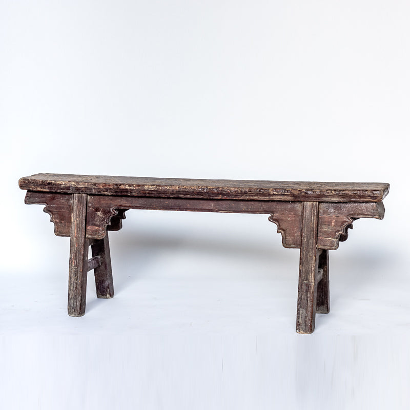 Antique Scholars Bench AD0416058DB-SEATING-Wu & McHugh