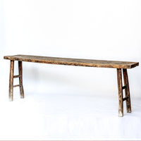 Vintage Farmhouse Console Table SQ0517004-TABLES-Wu & McHugh