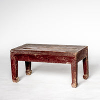 Antique Foot Stool YX0118059-TABLES-Wu & McHugh