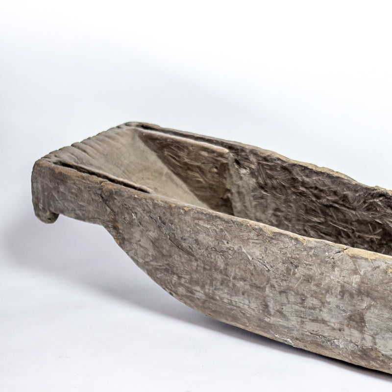 Antique Wooden River Fishing Boat SQ0517026BB