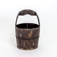 Antique Elm Water Bucket YX0118099HD