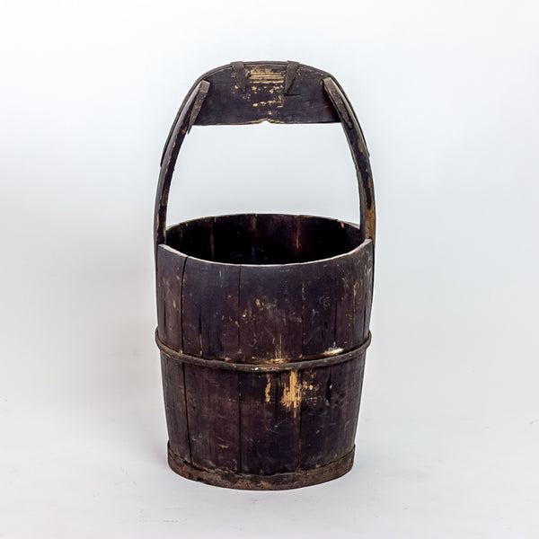Antique Elm Water Bucket YX0118099HE