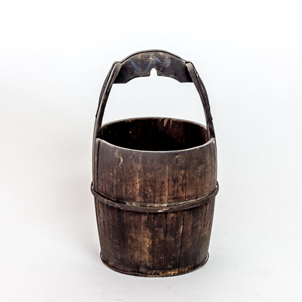 Antique Elm Water Bucket YX0118099HG