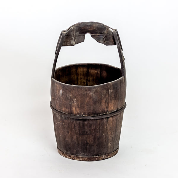 Antique Elm Water Bucket YX0118099HH