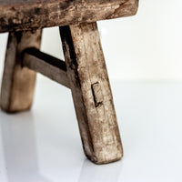 Vintage Small Elm Workers Stool SF6-SEATING-Wu & McHugh