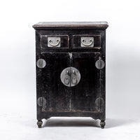 Antique Small Two Door Two Drawer Cabinet YX0118078