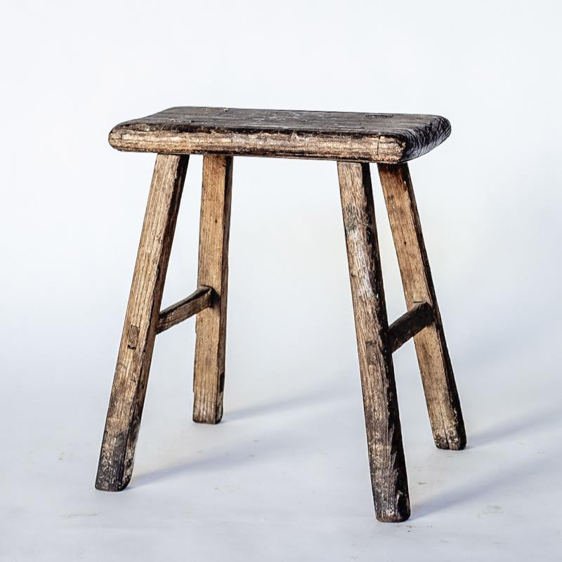 Vintage Rectangle Village Stool YX0018037ZE