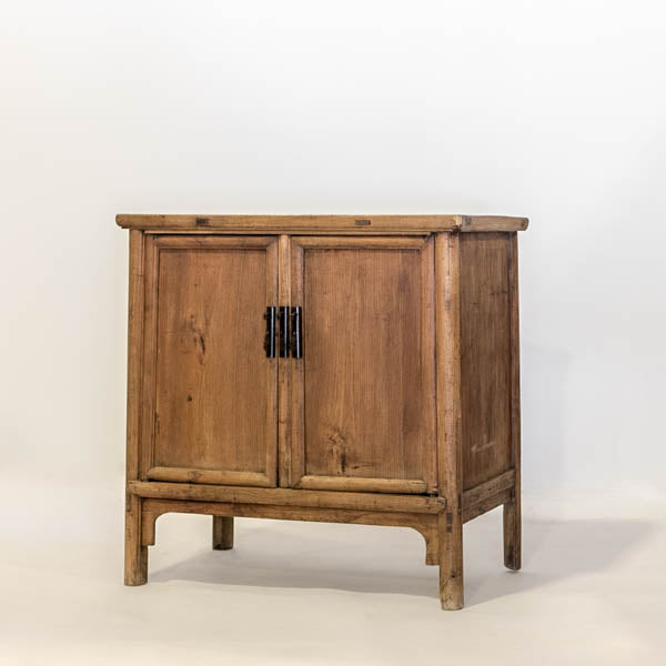 Antique Two Door Cabinet with 2 Small Interior Drawers AD0716010-CABINETS & STORAGE-Wu & McHugh
