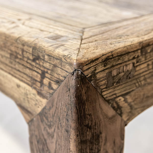 Salvaged Antique Elm Coffee Table AD0716105 TABLES Wu U0026 McHugh ...