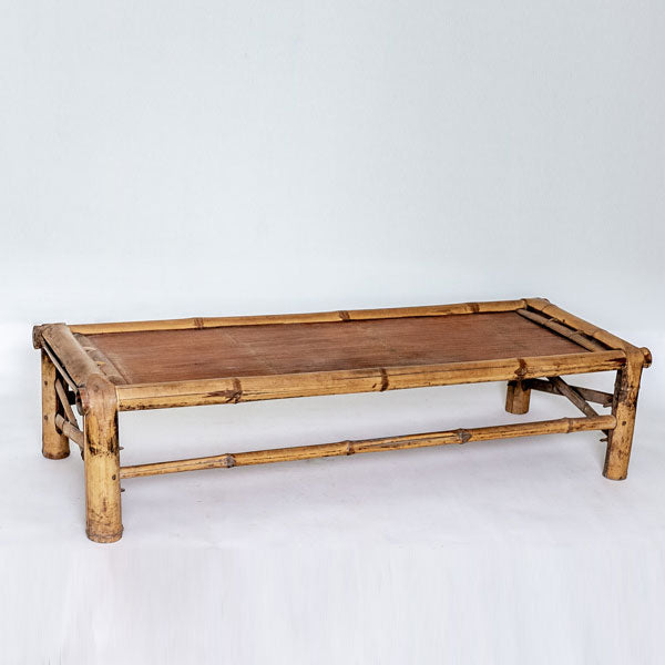 Vintage Narrow Bamboo Day Bed YX0517073-TABLES-Wu & McHugh