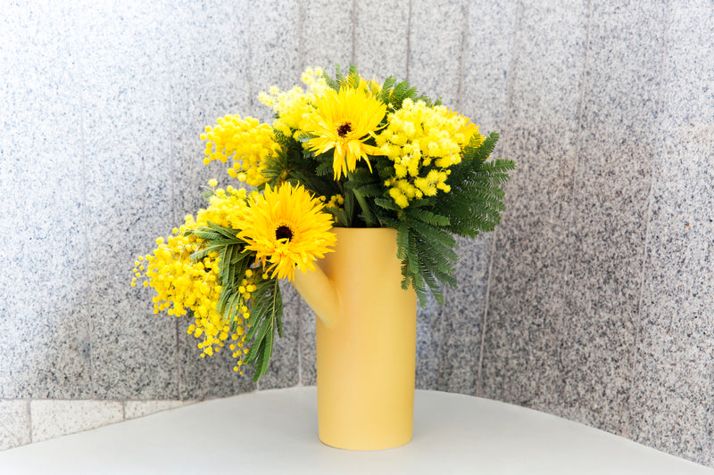 Forsythia Vase - PIECES by An Aesthetic Pursuit