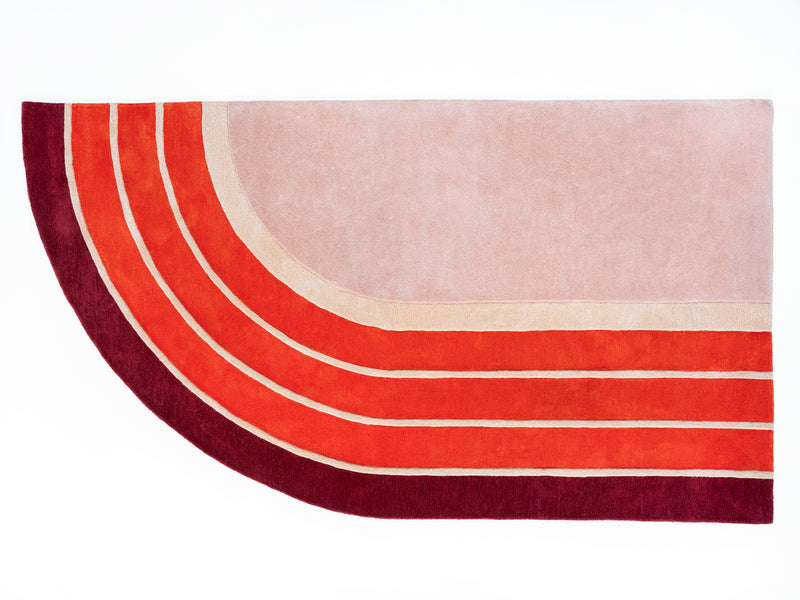 Track Rug - PIECES by An Aesthetic Pursuit