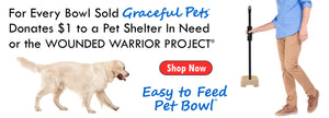 Easy to Feed Pet Bowl for Disabled