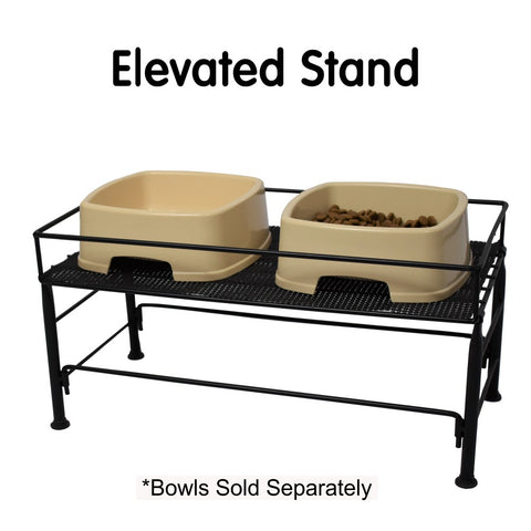 Easy to Feed Pet Bowl Elevated Stand