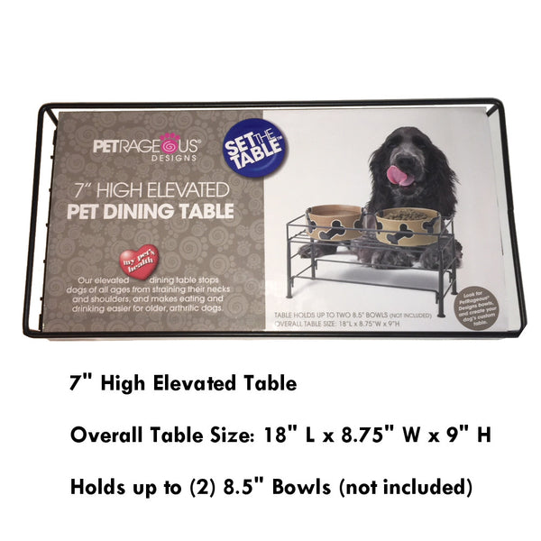 Petrageous Toby Elevated Bowl Stand
