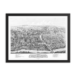 New Milford, Connecticut 1882 Framed