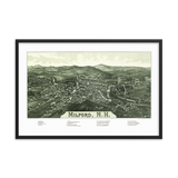 Milford, New Hampshire 1886 Framed