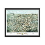 Ware, Massachusetts 1878 Framed