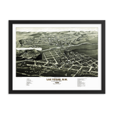 Las Vegas, New Mexico 1882 Framed