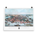 Annapolis, MD 1864 Historic Map