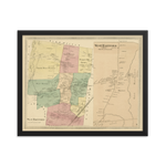 West Hartford,  CT 1869 Framed