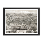 Milford, CT 1882 Framed