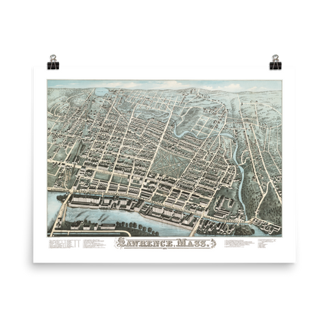 Lawrence MA 1876