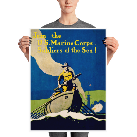 Join the US Marine Corps: Soldiers of the Sea!