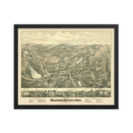 Stafford Springs, CT 1878 Framed