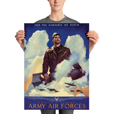 Air Force Poster, 1945