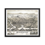 Hackettstown, NJ 1883 Framed