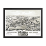 Blairstown, NJ 1883 Framed